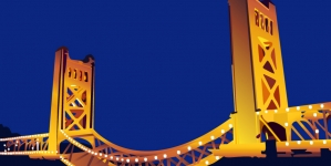 Makeover for Tower Bridge in Sacramento