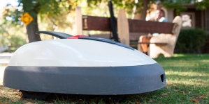 Robotic lawn mower that cuts grass, greenhouse gas emissions misplaced since Nov. 8