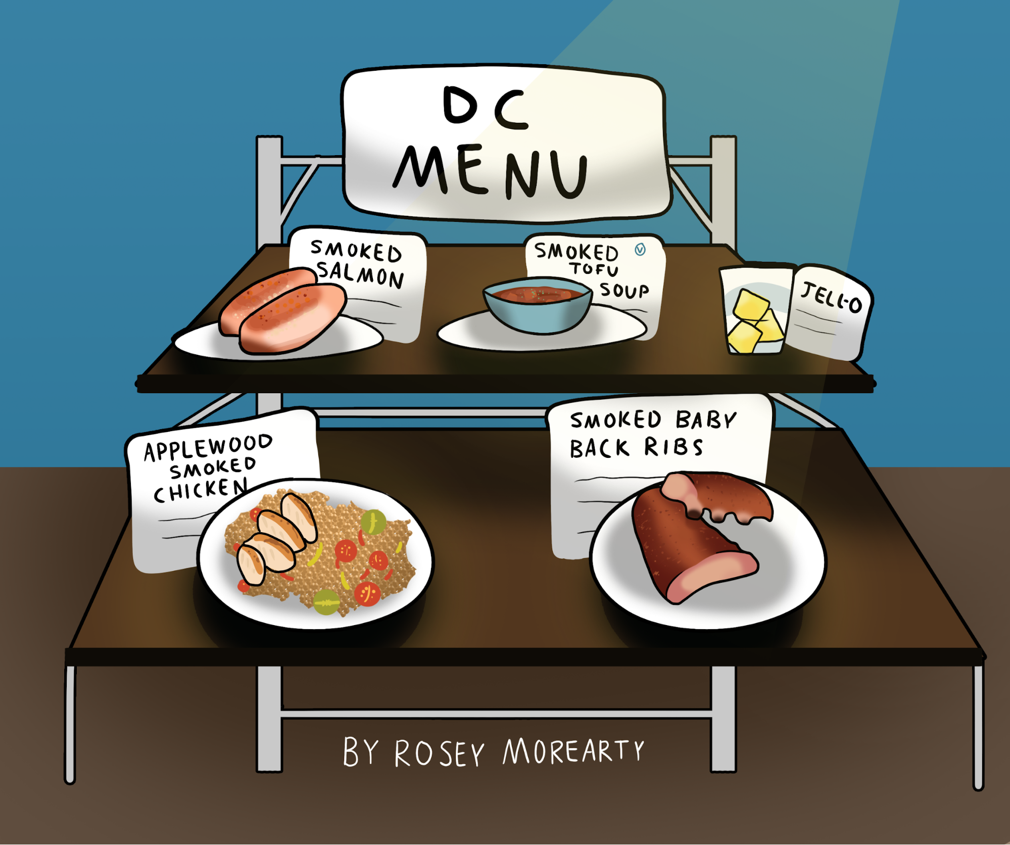 Cartoon: DC Menu