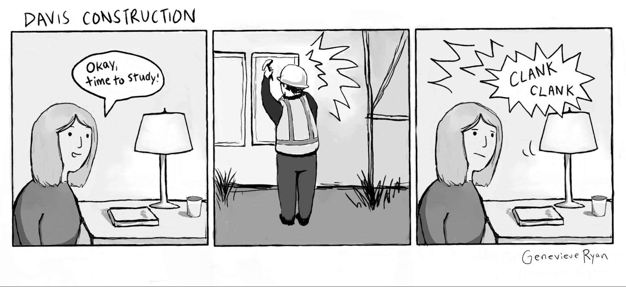 Cartoon: Davis Construction