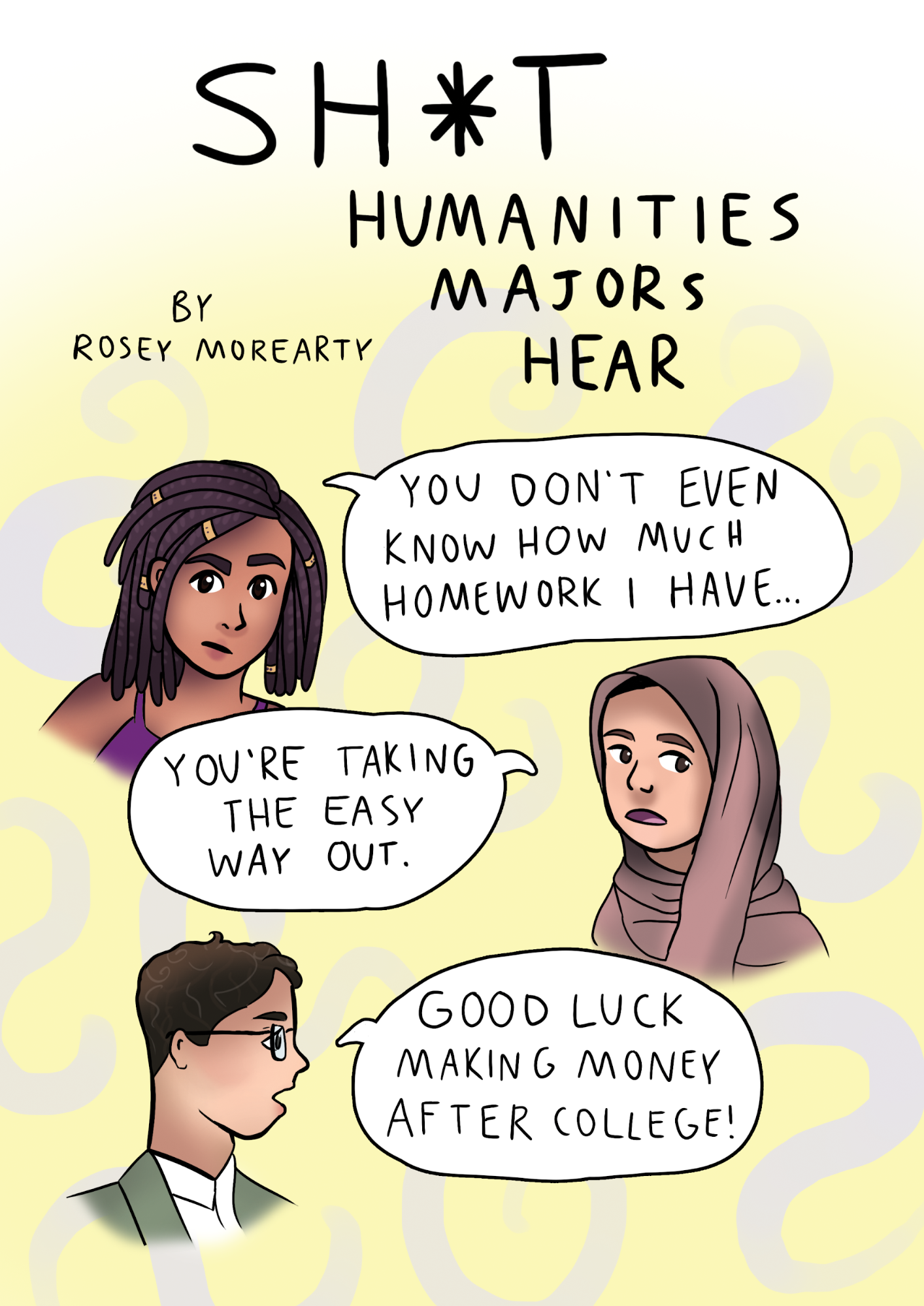 Cartoon: Sh*t Humanities Majors Hear