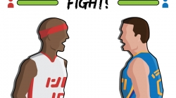 Lakers-Rockets tussle highlights NBA's history of fighting