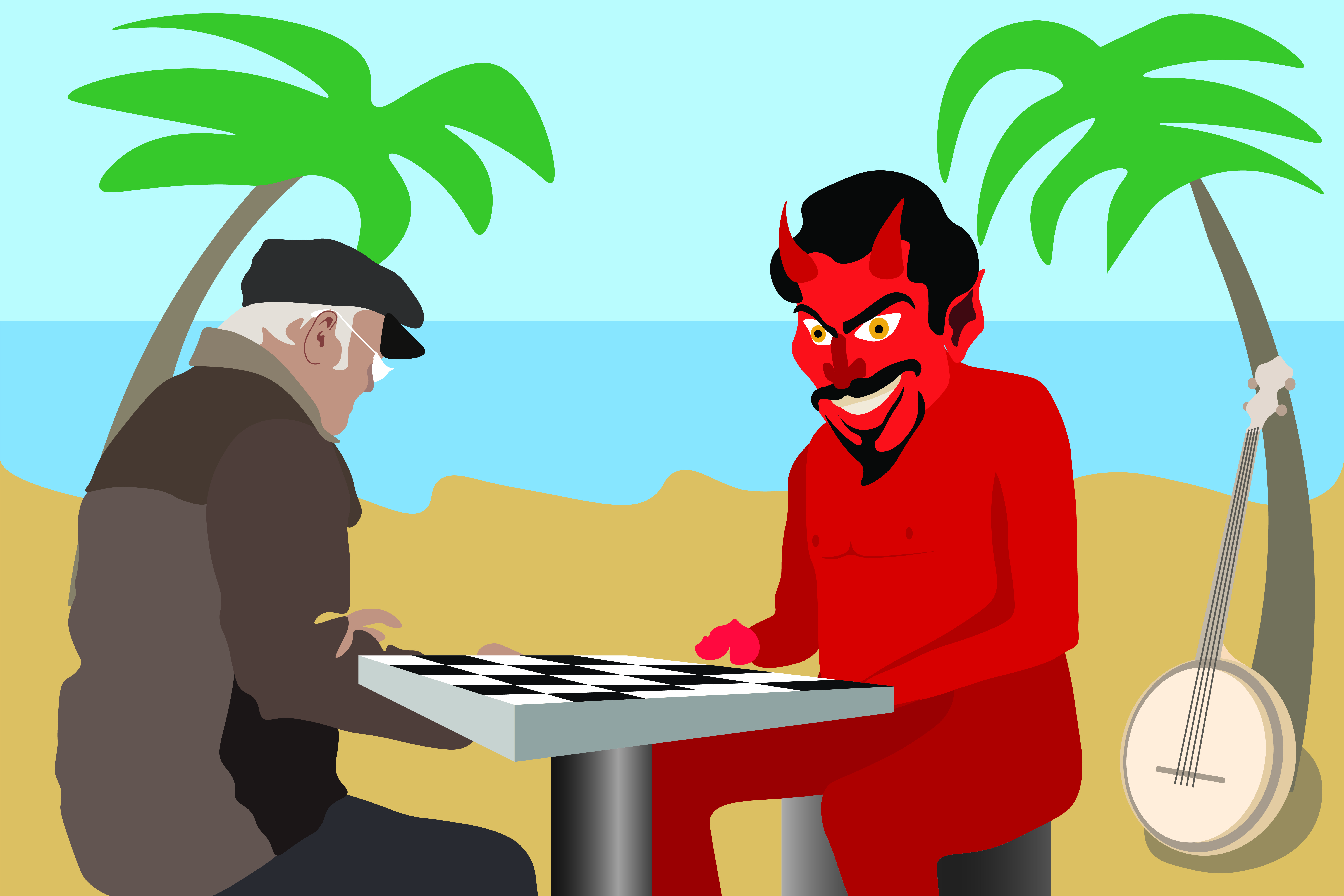 Humor: Student engages in chess match, banjo duel, game of wits with Satan in battle for GPA