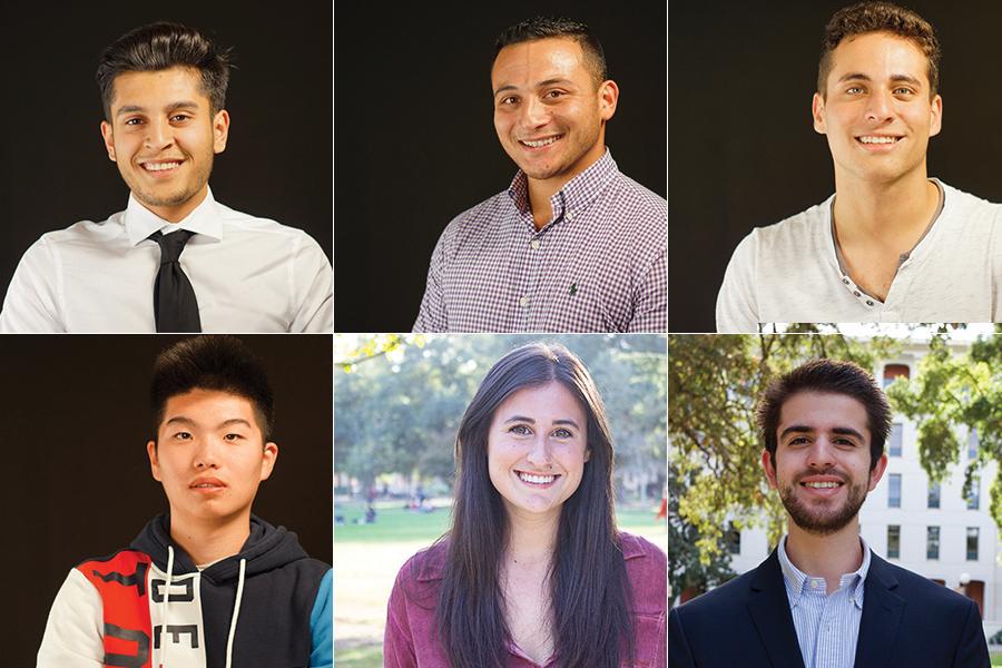 Fewer than 7 percent of students elect six new senators