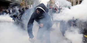 Political violence as a symptom of democracy in decline