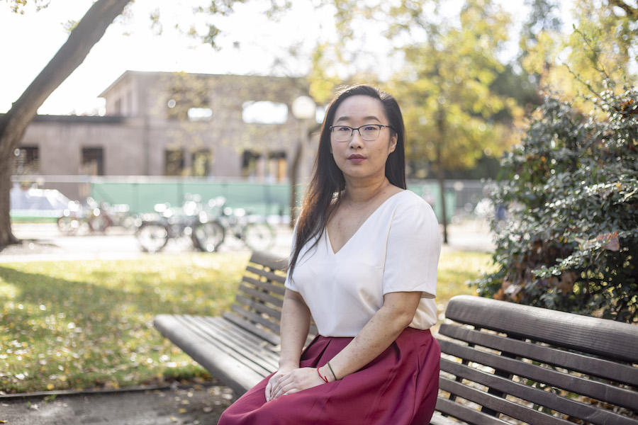 Alumna said university forcibly removed her from event for talking about her sexual assault