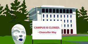Unprecedented campus closure: how administrative, health, financial aid decisions were made