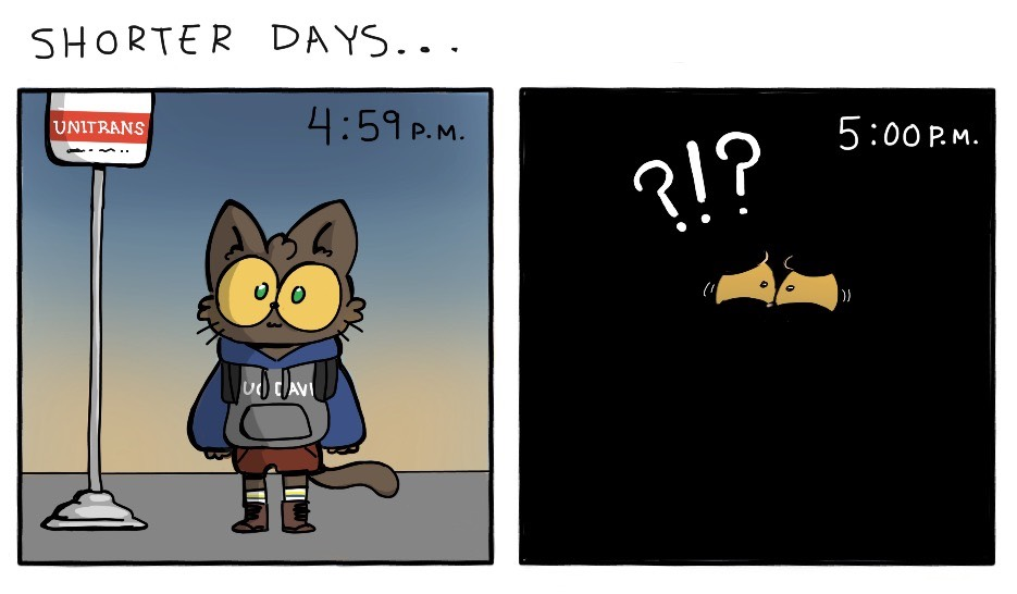 Cartoon: Shorter Days