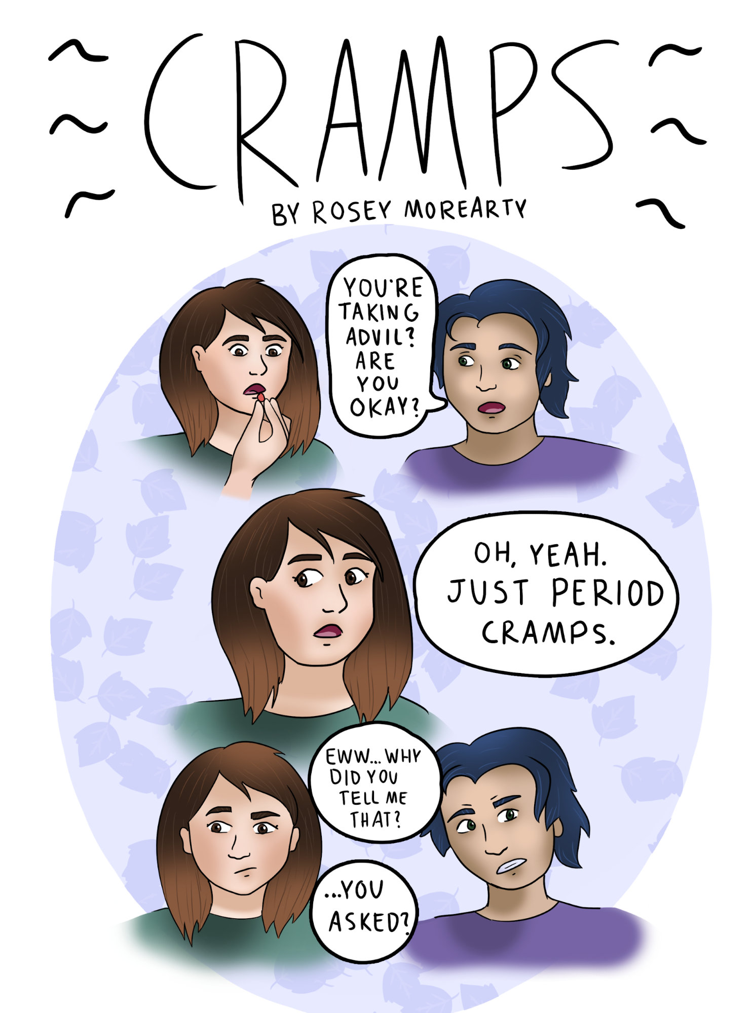Cartoon Cramps The Aggie