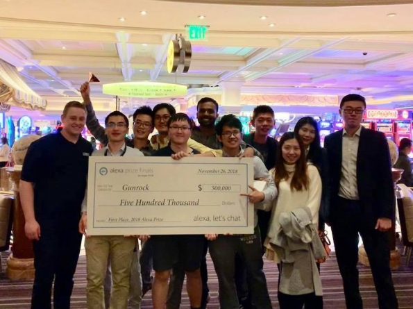 Team Gunrock Wins the 2018 Amazon Alexa Prize