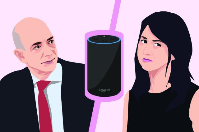 Humor: Jeff Bezos looks to virtual assistant, Alexa, to fix his marriage