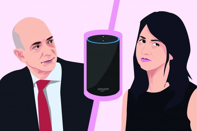 Humor: Jeff Bezos looks to virtual assistant, Alexa, to fix his marriage