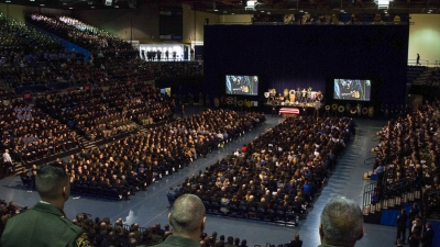 Memorial for slain police officer Natalie Corona held at UC Davis