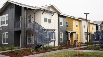 Woodland celebrates construction of new affordable housing complex