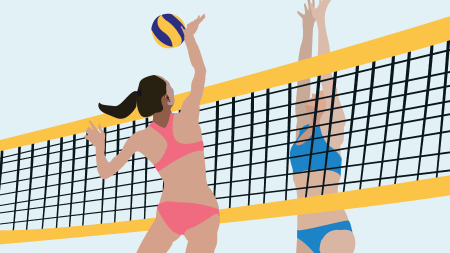 McColloch leads new era of beach volleyball