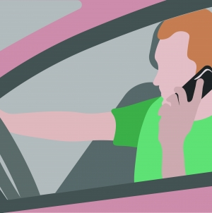 Put down the phone: An increase in California drivers utilizing cell phones while driving