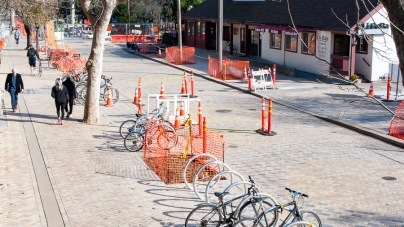 After delays, construction on Third Street is finally wrapping up