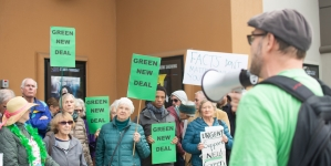 Congressman John Garamendi co-sponsors Green New Deal after heated town hall meeting with activists