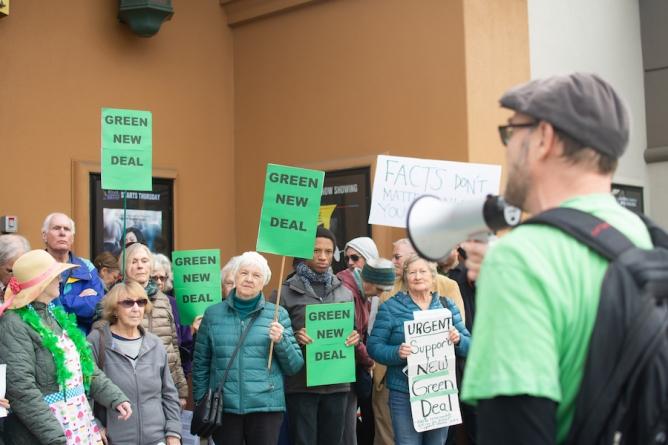 Congressman John Garamendi co-sponsors Green New Deal after heated town hall meeting with activists