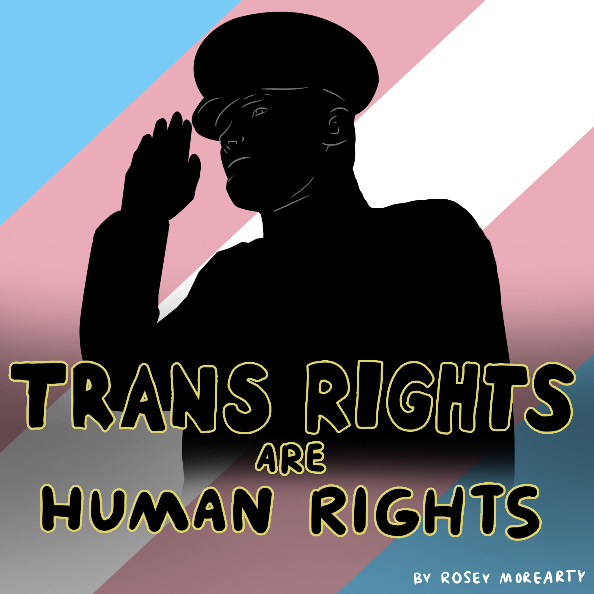 Cartoon: Trans Rights Are Human Rights