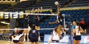 Volleyball's Mahalia White battles back