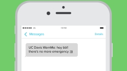 Humor: UC Davis WarnMe system warns us that there is in fact no emergency.