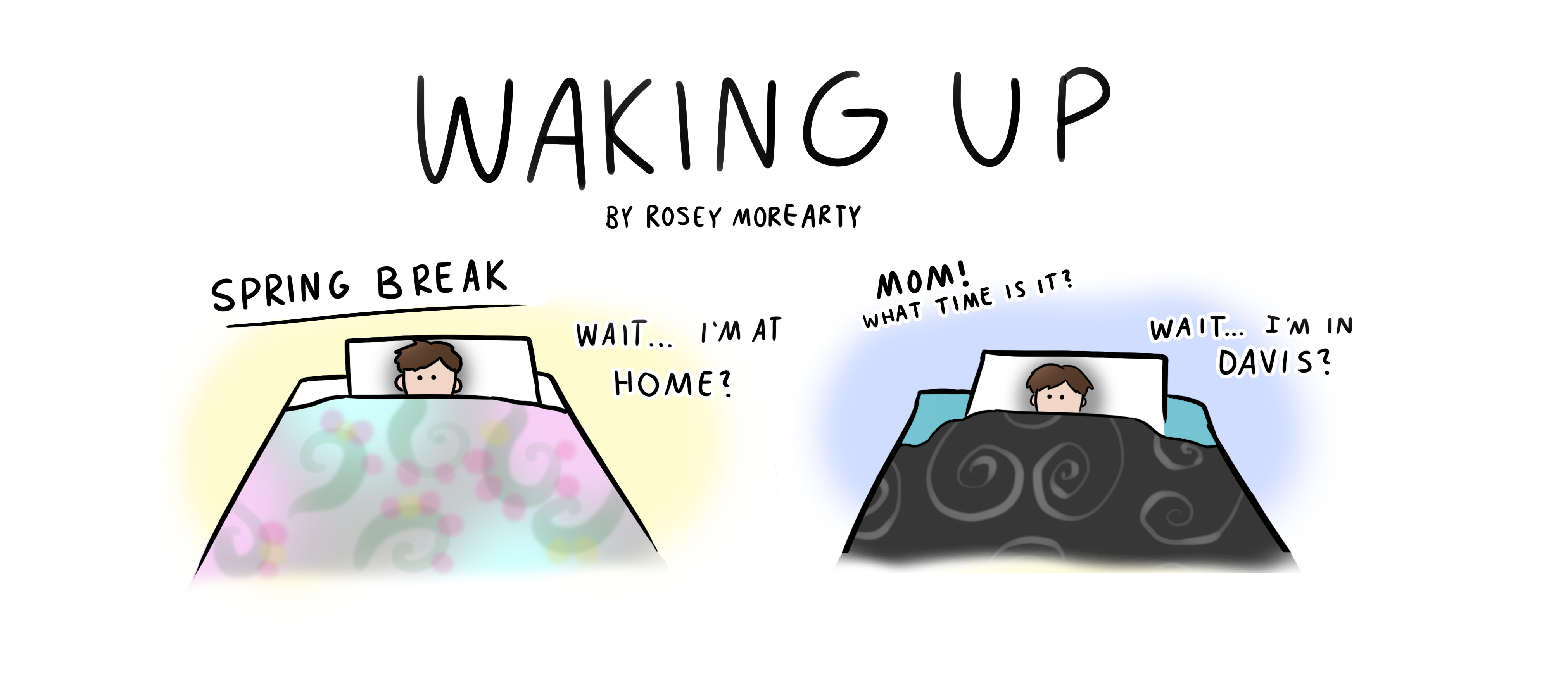 Cartoon: Waking Up