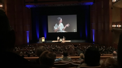 New York Times investigative journalist Jodi Kantor speaks at Mondavi Center