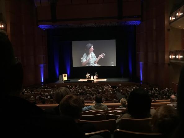 New York Times investigative journalist Jodi Kantor speaks at Mondavi Center