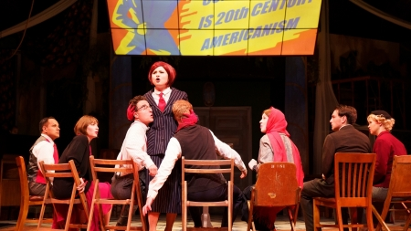 """Review: """"Flora and the Red Menace"""""""