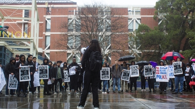 Stephon Clark Week of Action held at UC Davis