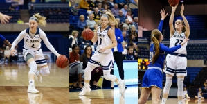 Women's Basketball rolls past UCSB on Senior Night