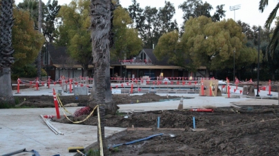 Construction of UC Davis Recreation Pool on schedule