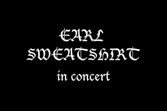 Earl Sweatshirt and Friends