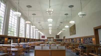 WiFi improvements made in Shields Library's Main Reading Room