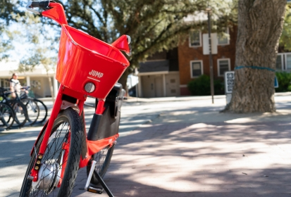 Students JUMP on opportunities for inexpensive, bike share riding