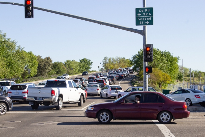 Davis Police Department increases traffic enforcement on Mace Boulevard, Cowell Boulevard