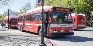 Car chase through Davis ends with crash into Unitrans bus