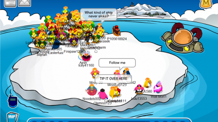 Club Penguin is the original Fortnite