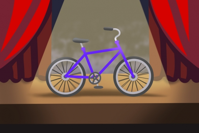 Bike City Theatre Company educates next generation of bicyclists