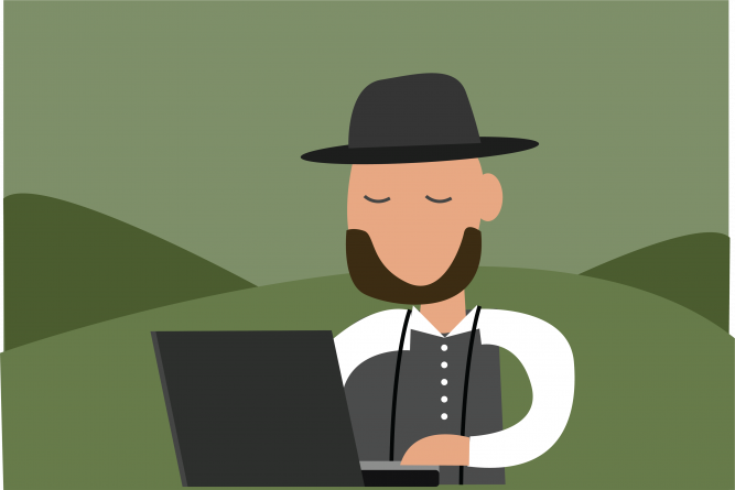 Humor: An investigation into the vast and extremely successful conspiracy to cover-up Amish cybercrime