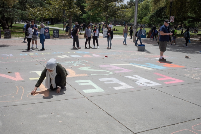 Anti-Zionism week held at UC Davis, Aggies for Israel organizes response
