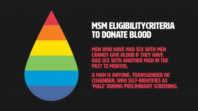 Chancellor Gary May stands against FDA's blood donation restrictions on MSM