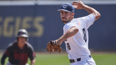 Aggies cruise to a Mother's Day and Senior Day Victory