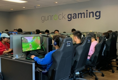 Gunrock Gaming: Providing students with a new space to game