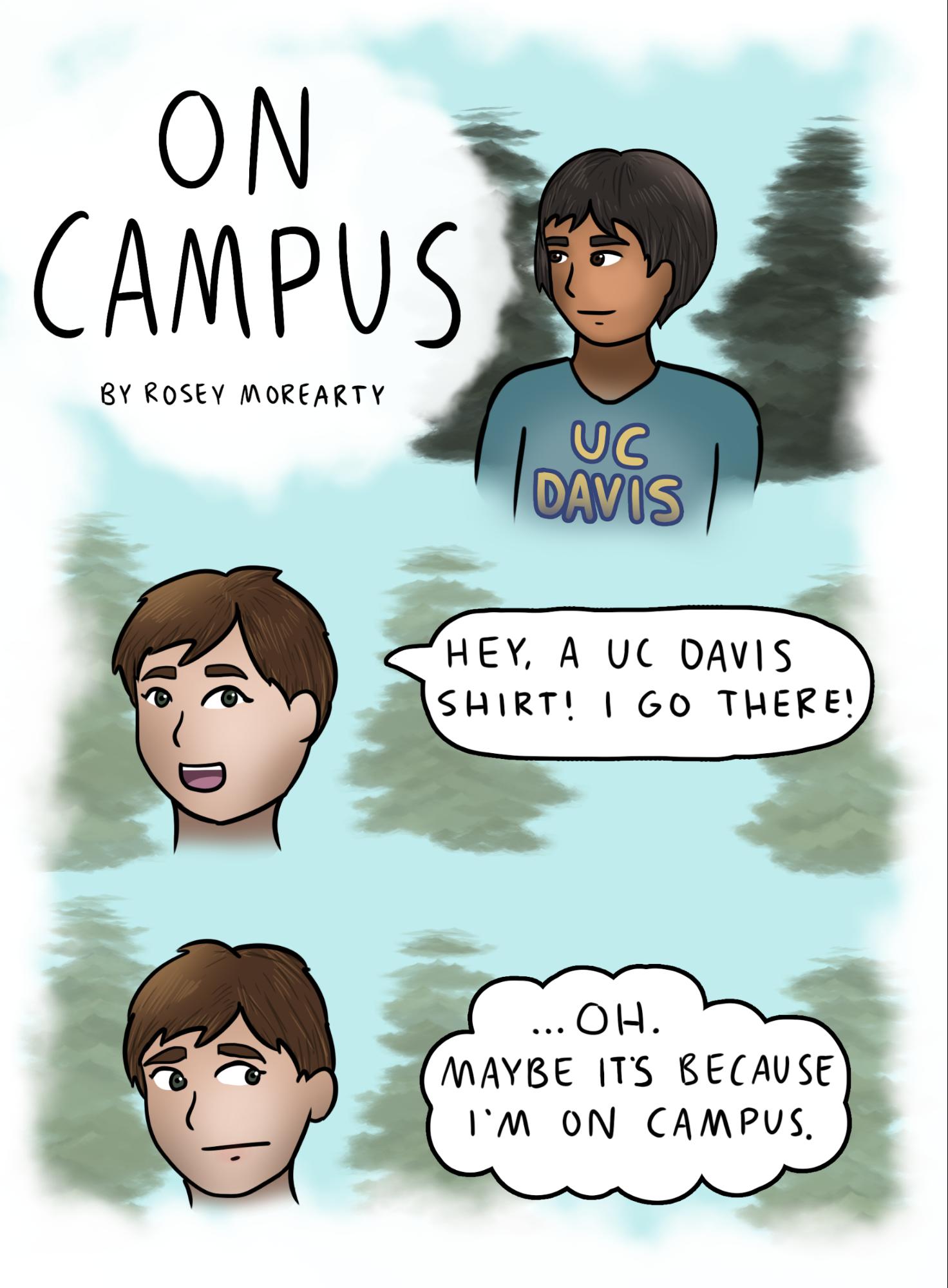 Cartoon: On Campus