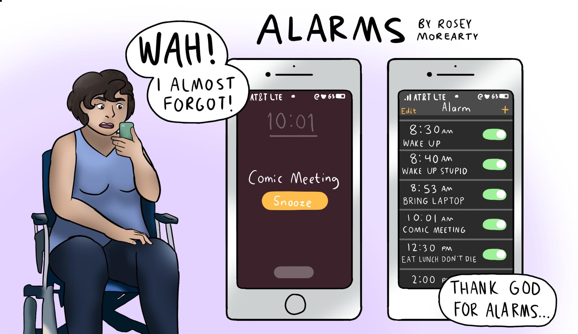 Cartoon: Alarms