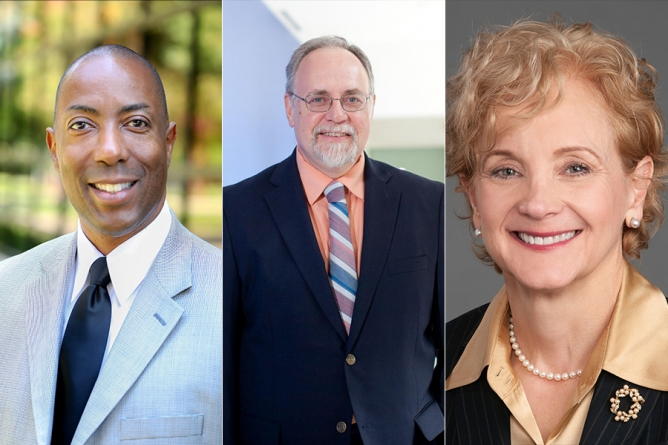 University welcomes three new administrators to campus