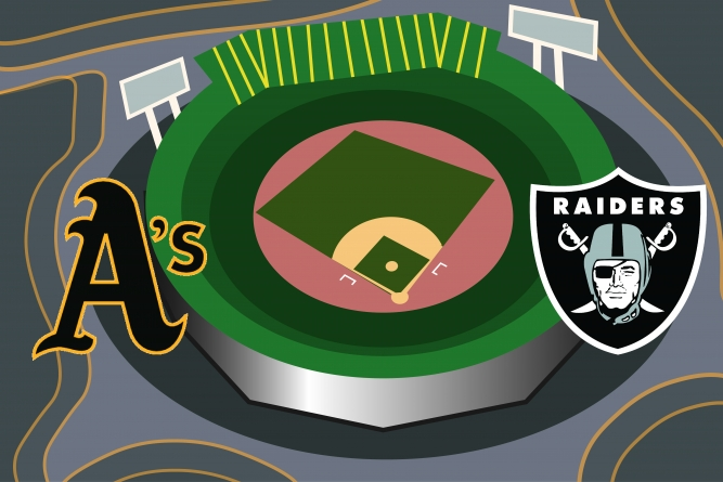 Oakland in danger of getting left behind in stadium arms-race