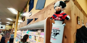 Davis Trader Joe's adopts new store mascot, Agnes the Cow